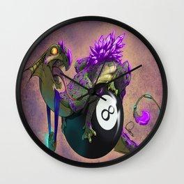 8ball Wall Clock
