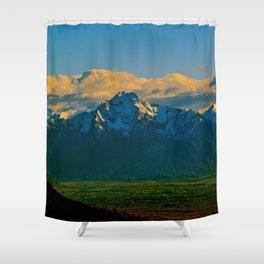 Pioneer Peak - Mat-Su Valley Shower Curtain