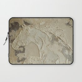 Horse in Stone Laptop Sleeve