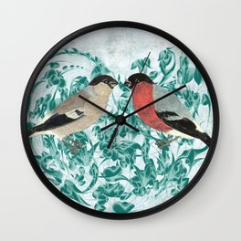 Finding your mate Wall Clock