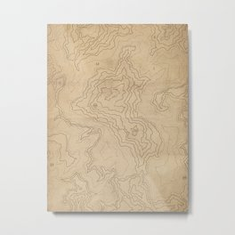 The Explorer Metal Print