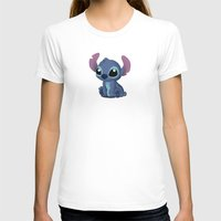 chibi T-shirts featuring Chibi Stitch by Katie Simpson a.k.a. Redhead-K