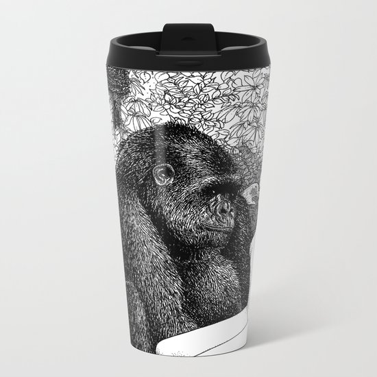 asc 686 - La pitié (Time is out of joint) Metal Travel Mug