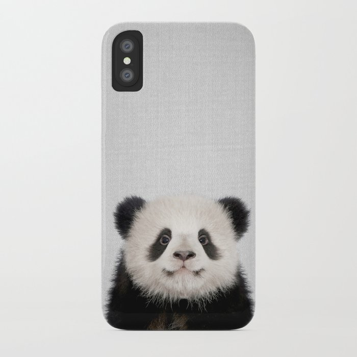 panda bear - colorful iphone case