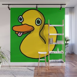 Drunk Duck | Veronica Nagorny Wall Mural
