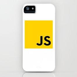 JS - Javascript programmer iPhone Case