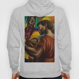 African-American 1951 Classical Masterpiece 'Gospel Singers' by Charles White Hoody