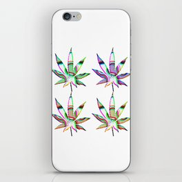 Cannabis Rainbow Design (101) iPhone Skin