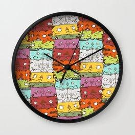 Tiger Kuubs Wall Clock