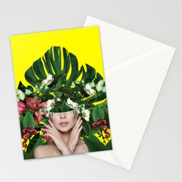 Fire on Flowers Stationery Cards