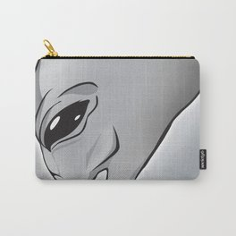 Halloween Theme [The Grey Alien] Carry-All Pouch