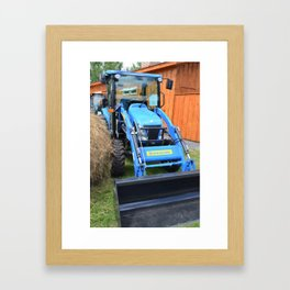New Holland Workmaster 75 Tractor  2 Framed Art Print