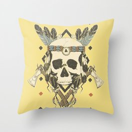 DEAD INJUN Throw Pillow