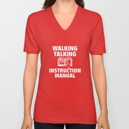 Instruction Manual Unisex V-Neck