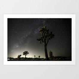 Pioneertown Milky Way Art Print