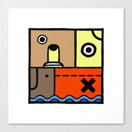 Square 3 Canvas Print