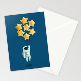 Astronaut's dream Stationery Cards