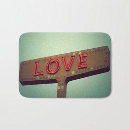 Love Signs Bath Mat