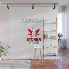 Canadian Stoner Team Weed Wall Mural