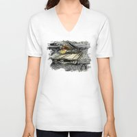 venus V-neck T-shirts featuring VENUS by Design Gregory