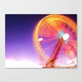 Wheel Keeps Turnin' Canvas Print