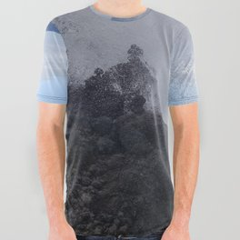 Ocean Explosion All Over Graphic Tee