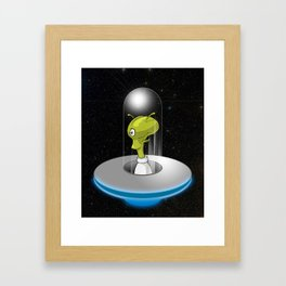 Take me to your leader Again Framed Art Print