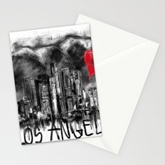 I love Los Angeles Stationery Cards