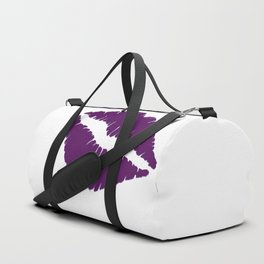 Violet Kiss with white Background Duffle Bag