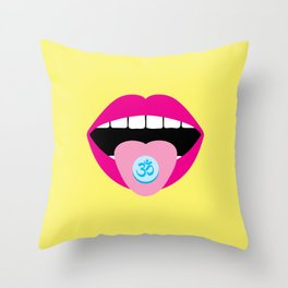 Chill Pill Throw Pillow