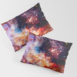 Cosmic Connection 2 galaxy space nebula stars universe Pillow Sham