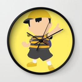 Ness(Smash)Yellow Wall Clock