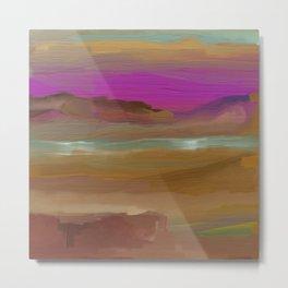 Southwestern Sunsets Landscape Metal Print
