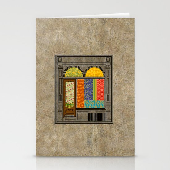 Shop windows Stationery Cards