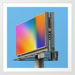 Billboard Art Print