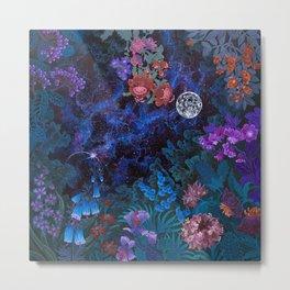 Space Garden Cosmos Metal Print