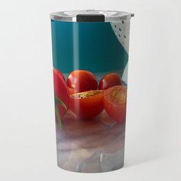 Fallen Cherry Tomatoes Travel Mug