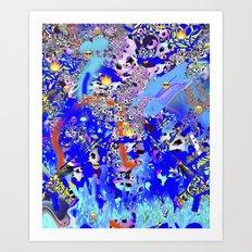 Bog Art Print