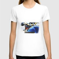 motorcycle T-shirts featuring Motorcycle by Carlo Toffolo