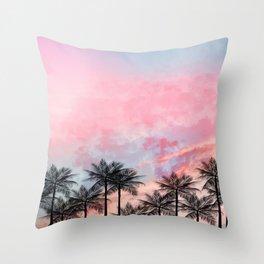 Summer Palm Tree #Society6 #Buyart #Decor Throw Pillow