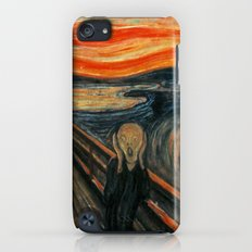 The Scream by Edvard Munch Slim Case iPod touch
