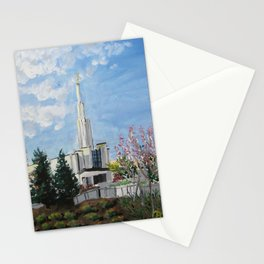 Atlanta Georgia LDS Temple Day Stationery Cards