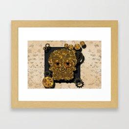 Engrenage Framed Art Print