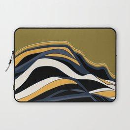olive & navy & mustard  / minimalist Laptop Sleeve
