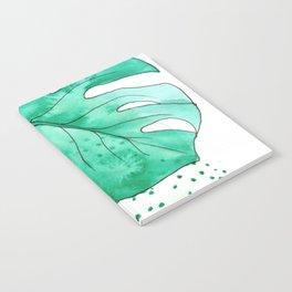 monstera monday Notebook