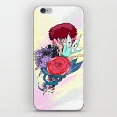 Chrysanth Wisteria & Lily - & Rose  iPhone & iPod Skin