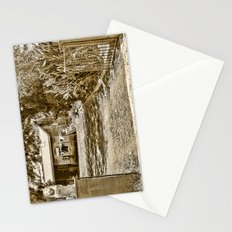 Stone lions guarding a Country Palace Stationery Cards