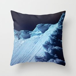 NATURE'S WONDER #2 - Glacier in the dark #art #society6 Throw Pillow