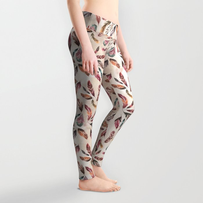 Feather Love Leggings