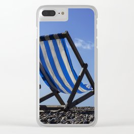 Beach Chairs Clear iPhone Case
